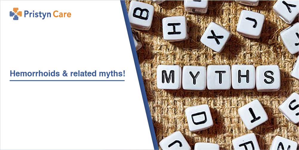 Hemorrhoids and related myths!