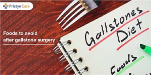 Foods to avoid after gallstone surgery