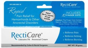 Recticare Anorectal Cream in piles