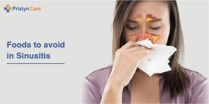 Foods to avoid with sinusitis