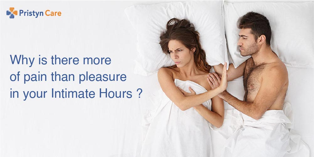 Why is there more of pain than pleasure in your Intimate Hours ?