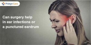 Can surgery help in ear infections