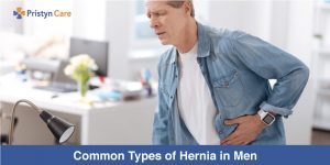 Common types of hernia in men