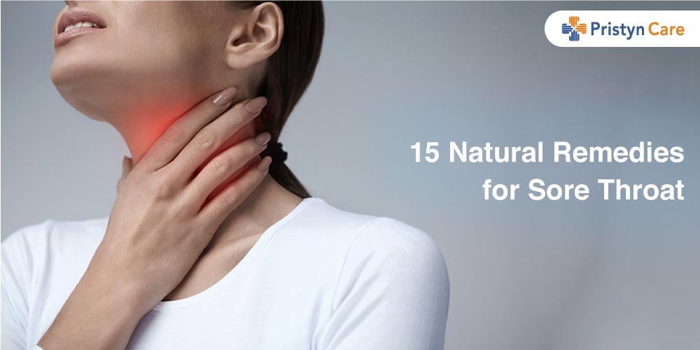 Cover image for 15 natural remedies for sore throat