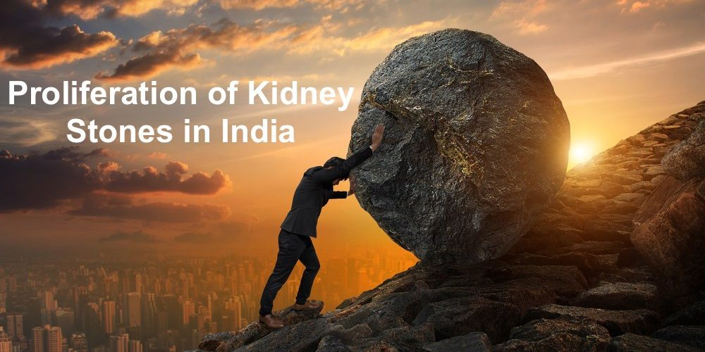 Proliferating problem of kidney stones in India