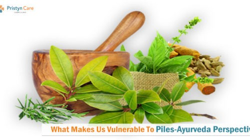 What makes us vulnerable to piles