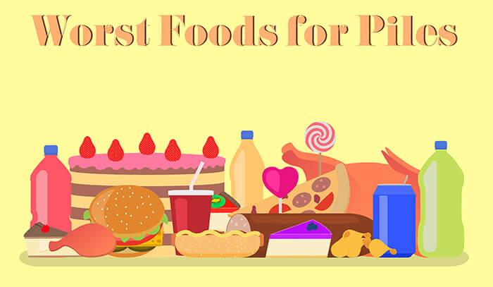 cover worst food for piles