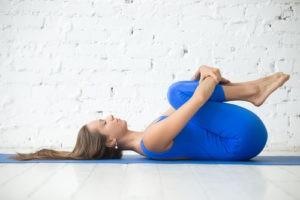 Pawanmukstasana yoga to cure piles