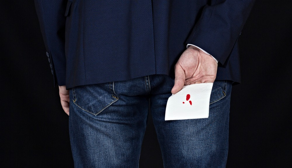 Bleeding piles - causes and symptoms
