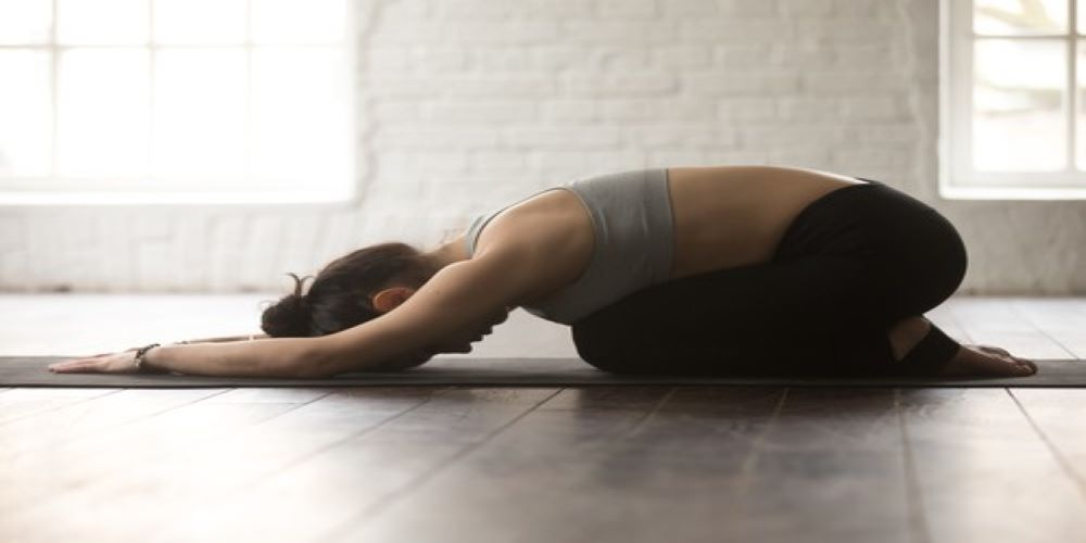 balasana - yoga exercise varicose veins