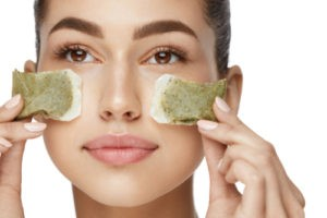 green tea bags for acne