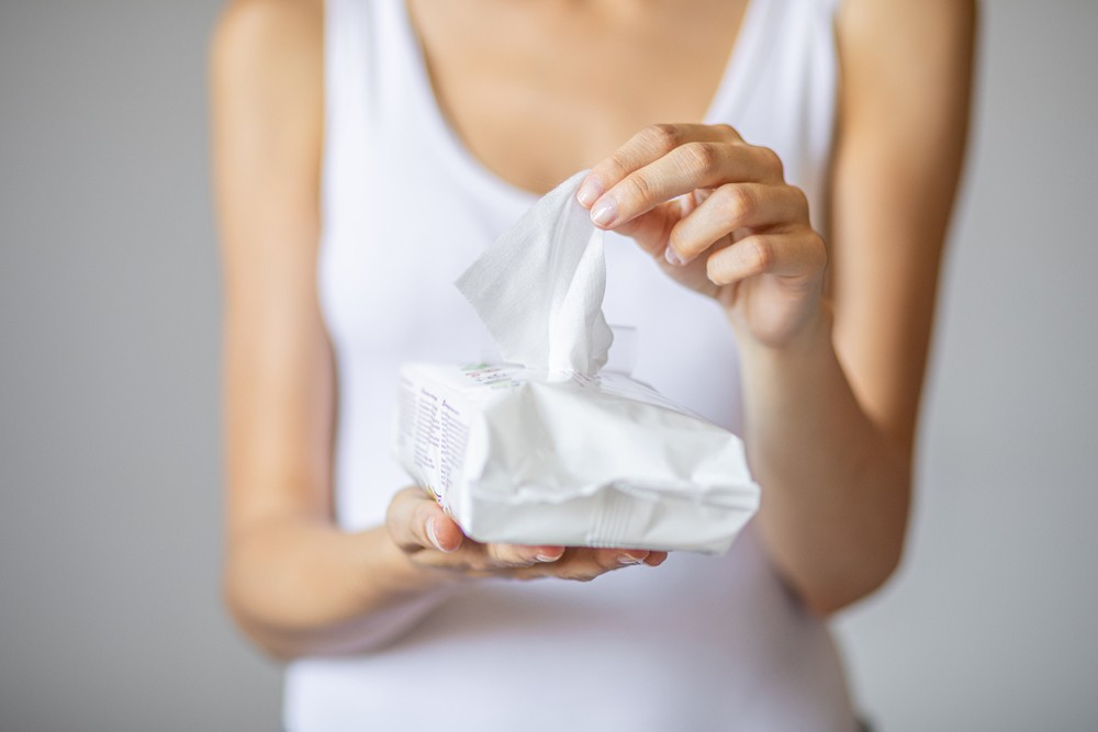 Soft and scented wipes