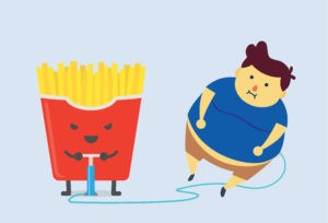 French fries causing obesity in children