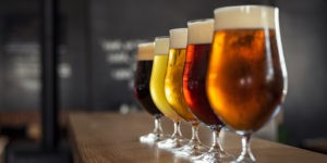 different types of gluten-free beer