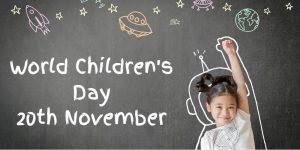 World Children day 20th november