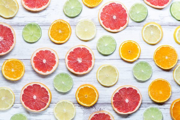 citrus foods for cough