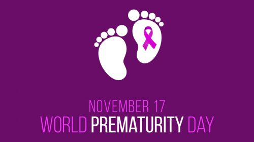 cover for world prematurity day