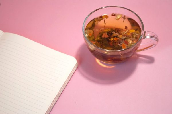 drink herbal tea to relax