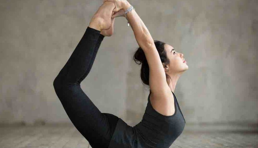 Dhanurasana  yoga pose to prevent ovarian cyst
