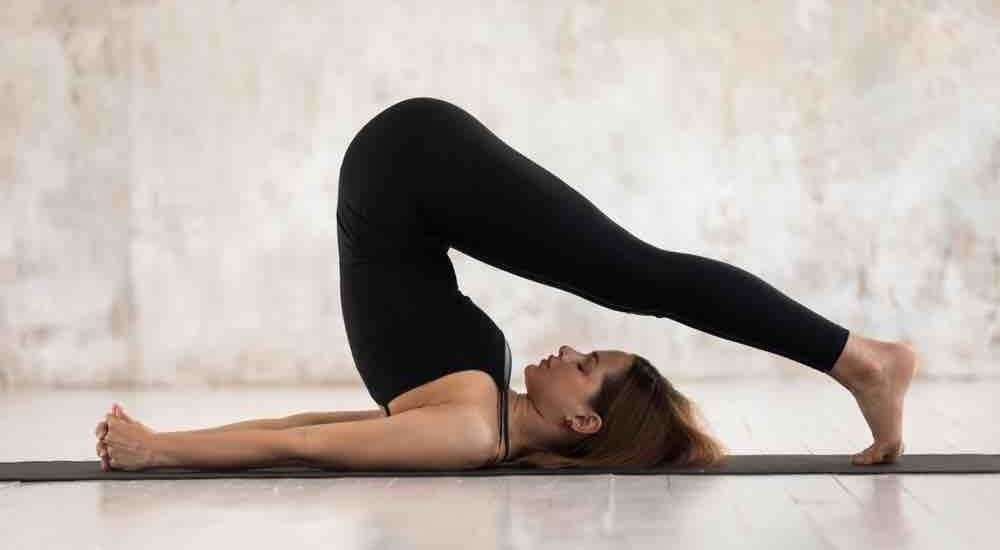 Halasana for ovarian cyst  yoga pose to prevent ovarian cyst