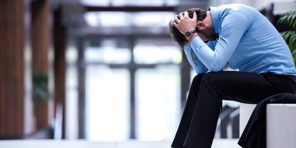 Depressed employee