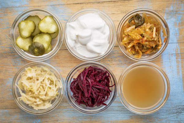 food items high in probiotics