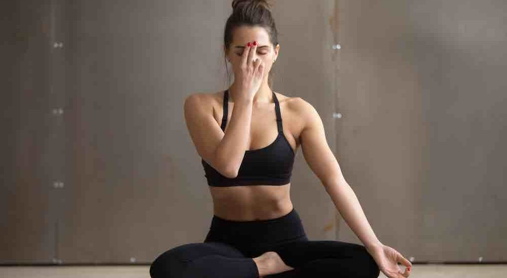 Pranayam  yoga pose to prevent ovarian cyst