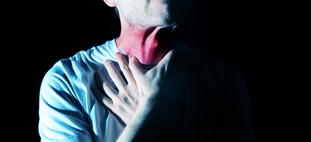 Sore throat at night