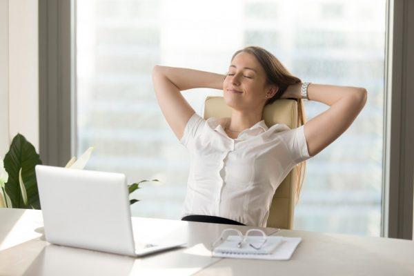 take a break in office