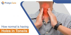 Listen to what the doctor says about Holes in Tonsils