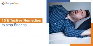 remedies to stop snoring | pristyn care