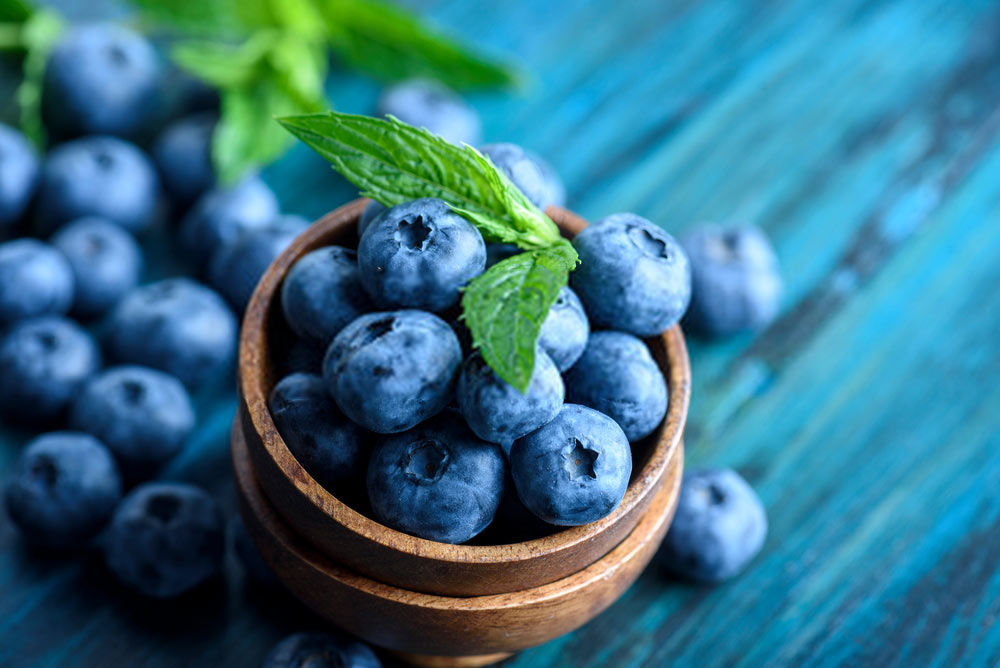 Blueberries for varicose veins