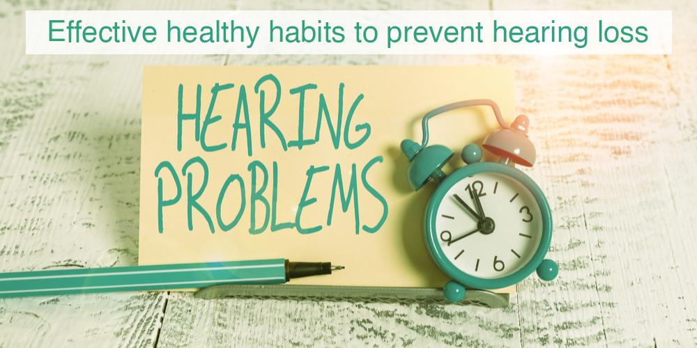 Cover image for effective tips to prevent hearing loss