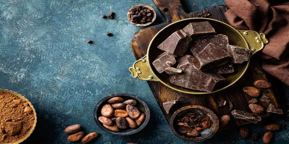 Dark chocolate for male infertility