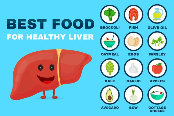 Healthy diet for the liver