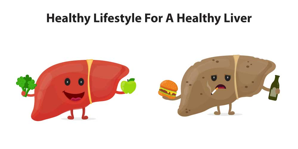 Healthy lifestyle for a healthy liver