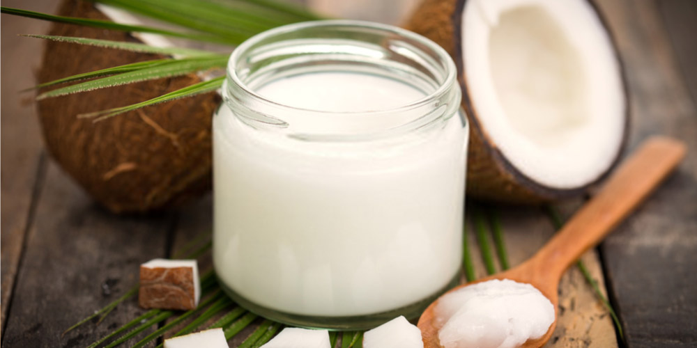 Prepare suppositories with coconut oil