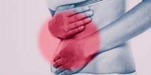 patient having symptoms of IBS