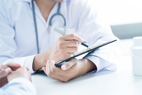 consultation at a doctor