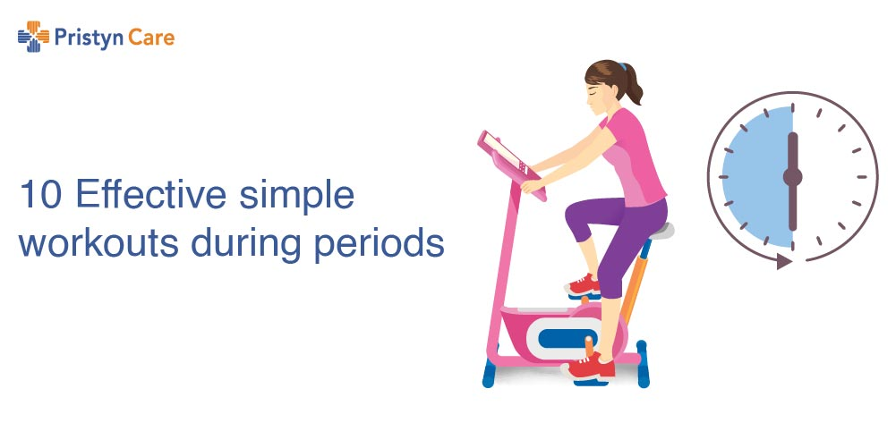 10 effective simple workouts during period
