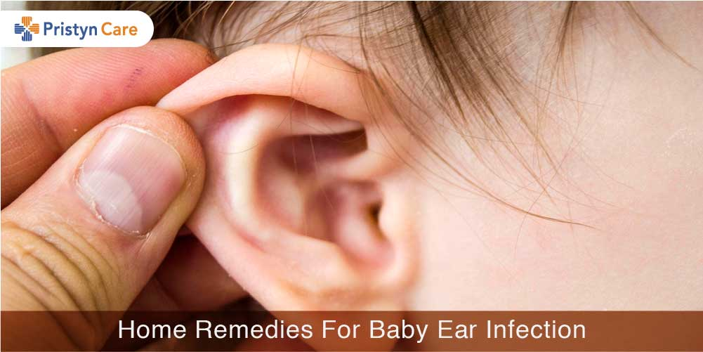 Home remedies for Baby ear infection