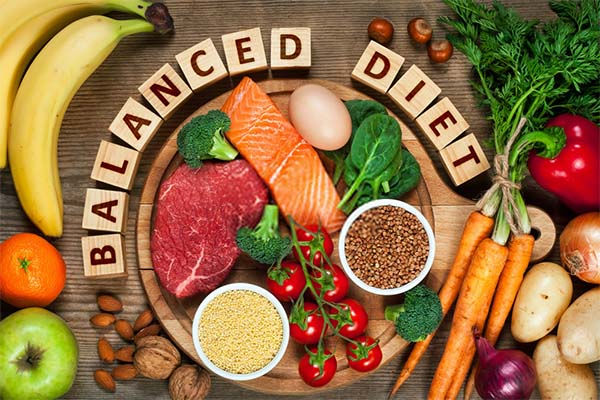 Balanced diet to lose pregnancy weight