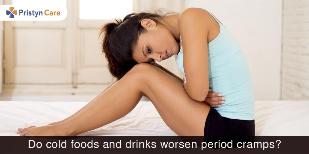 Do cold foods worsen period cramps?
