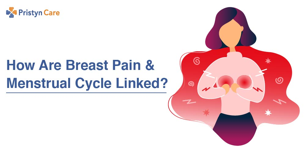 How are Breast pain and periods linked