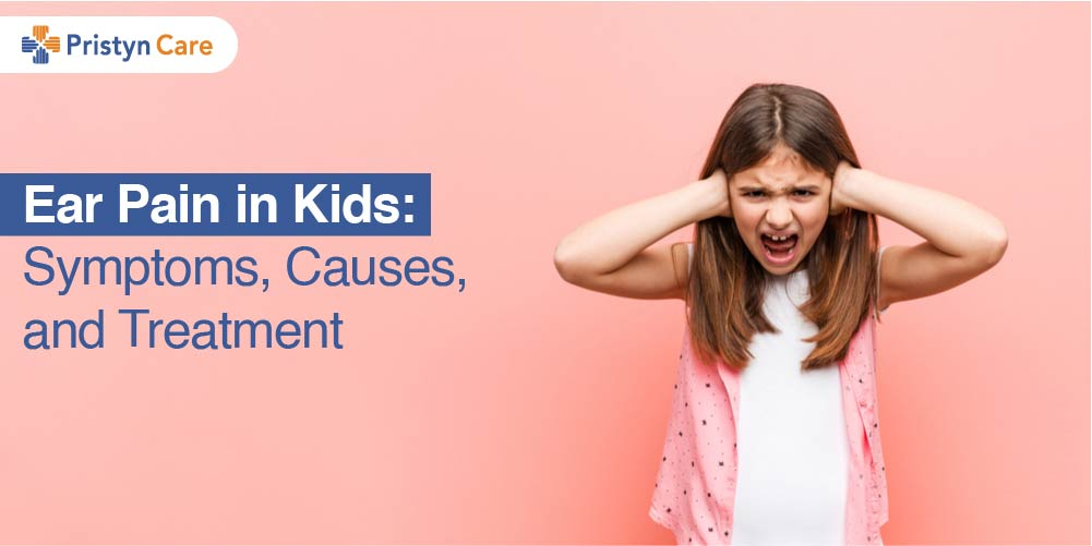 Cover image for ear pain in kids