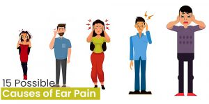 Cover image for possible causes of earache