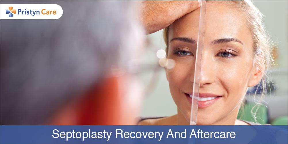 Cover image for septoplasty and aftercare