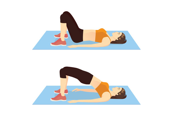 Hip Raise exercise