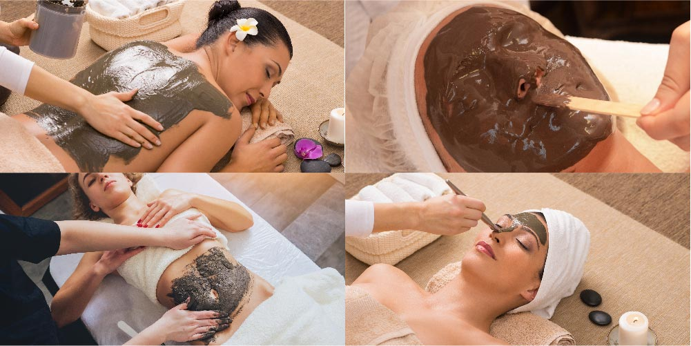 Mud Therapy for different body parts