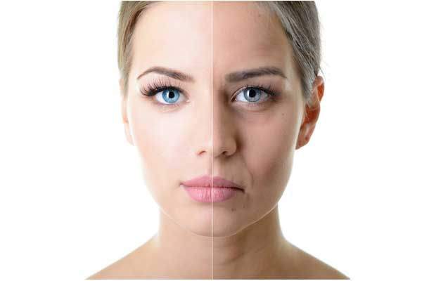 cosmetic treatment for anti-aging
